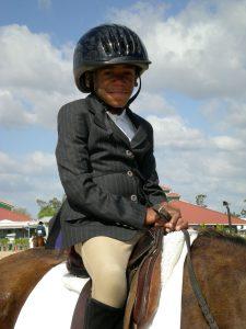 Polento on his horse