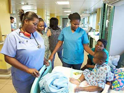 Eleven Children Received Heart Surgery At St Damien Pediatric Hospital During The Week Of Feb 21 28th Led By Gift Life International Rotary Clubs In